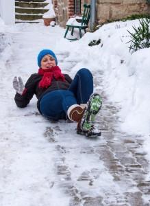 Slip Accident on Ice