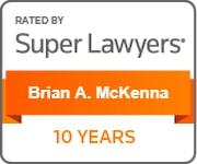 10 Years Michigan Super Lawyers Brian McKenna