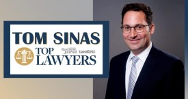 Tom Sinas Named a Top Lawyer in Grand Rapids by Grand Rapids Magazine