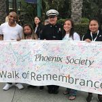 walk of remembrance at World Burn Congress