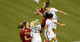 Women's World Cup Head Collision Illustrates Soccer's Concussion Risk